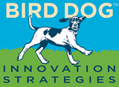 Bird Dog Innovation Strategies Retina Logo